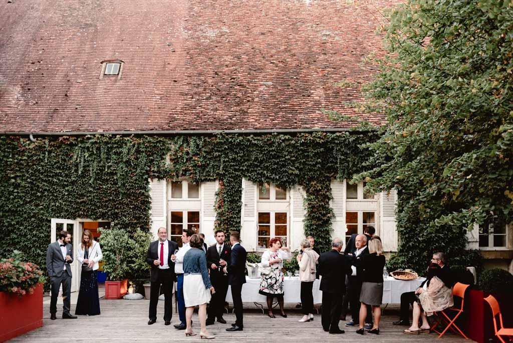 photographe mariage auxerre chablis bourgogne hostellerie clos vin dhonneur
