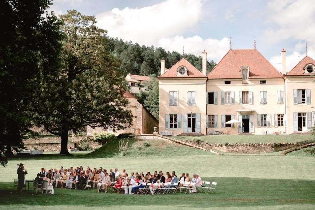 photographe mariage bourgogne chateau barbirey ceremonie laique photo