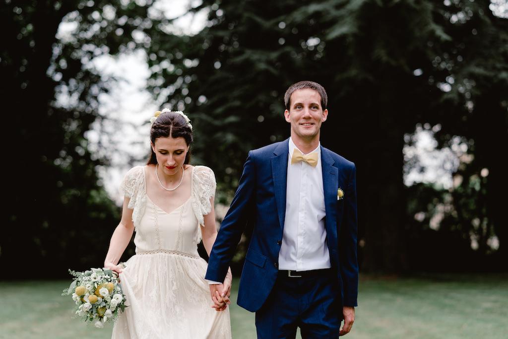 photographe mariage chalon sur saone saone et loire clos des tourelles couple maries photo