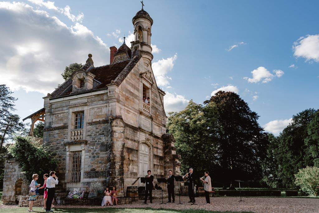 photographe mariage dijon besançon bourgogne franche comte chateau saint loup nantouard vin dhonneur
