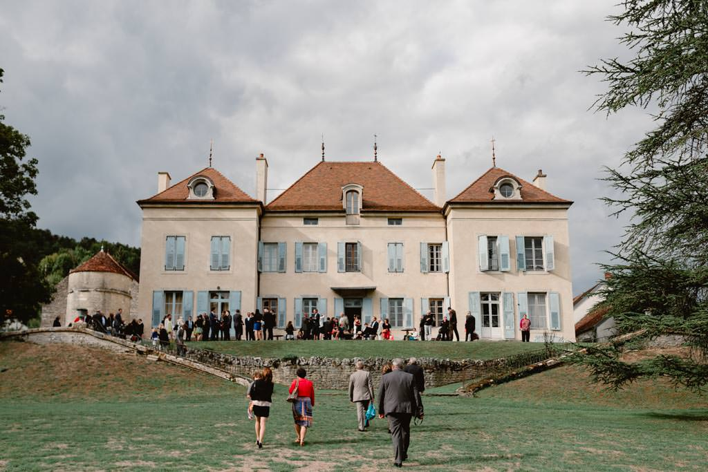 photographe mariage dijon bourgogne chateau barbirey vin dhonneur