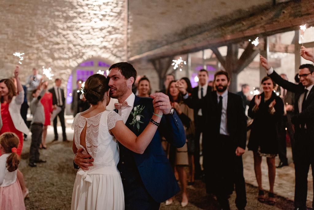 photographe mariage dijon bourgogne chateau santenay soiree photo