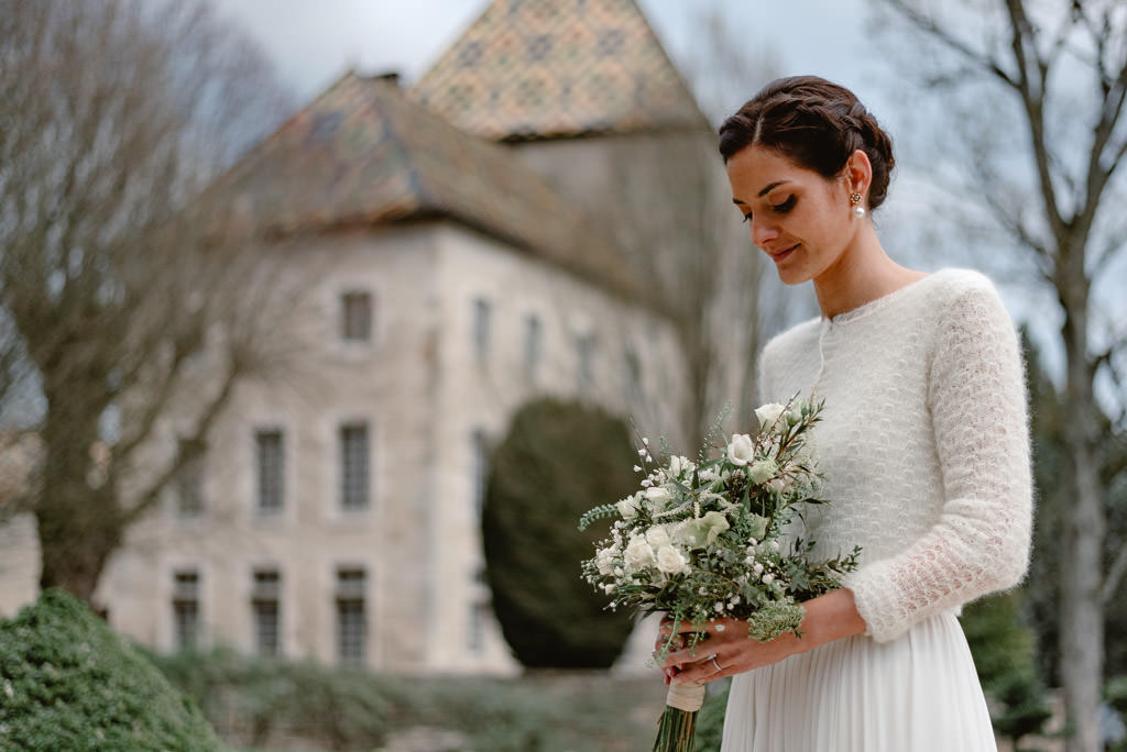 photographe mariage dijon bourgogne photo chateau santenay