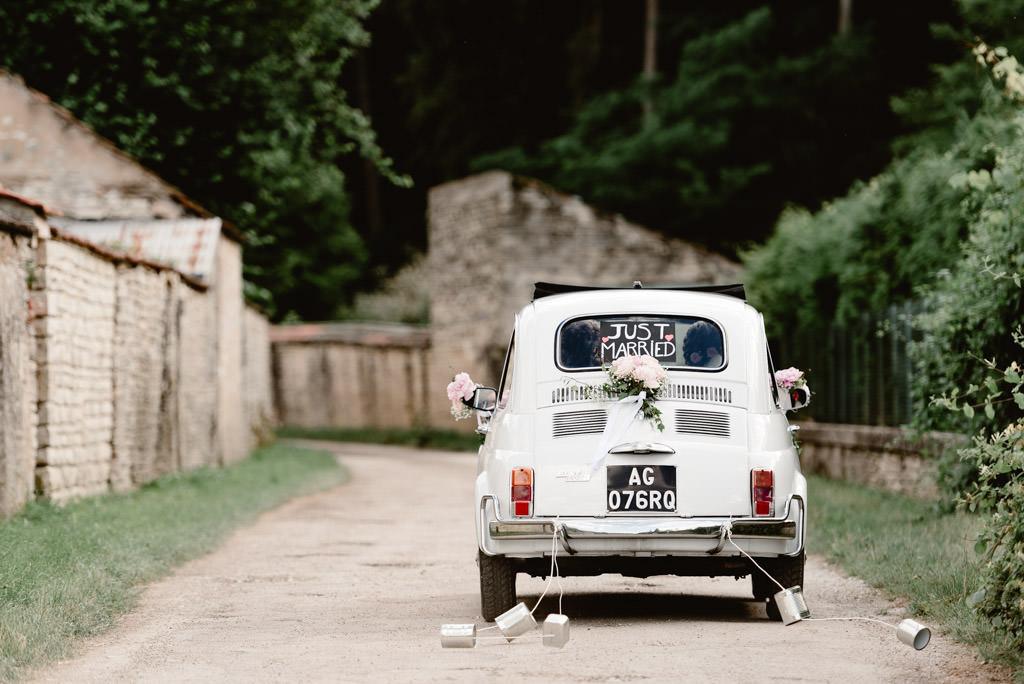 photographe mariage dijon bourgogne photo voiture fiat 500