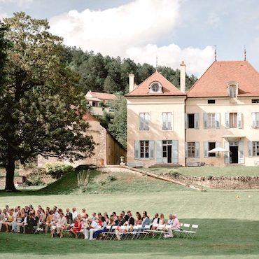 photographe mariage bourgogne chateau barbirey ceremonie laique photo