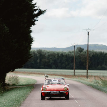 photographe mariage dijon bourgogne photo voiture triumph